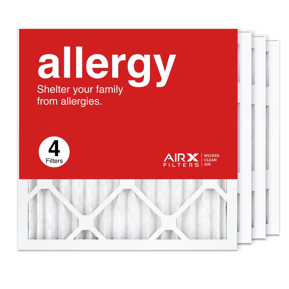 16x16x1 AIRx ALLERGY Air Filter, 4-Pack