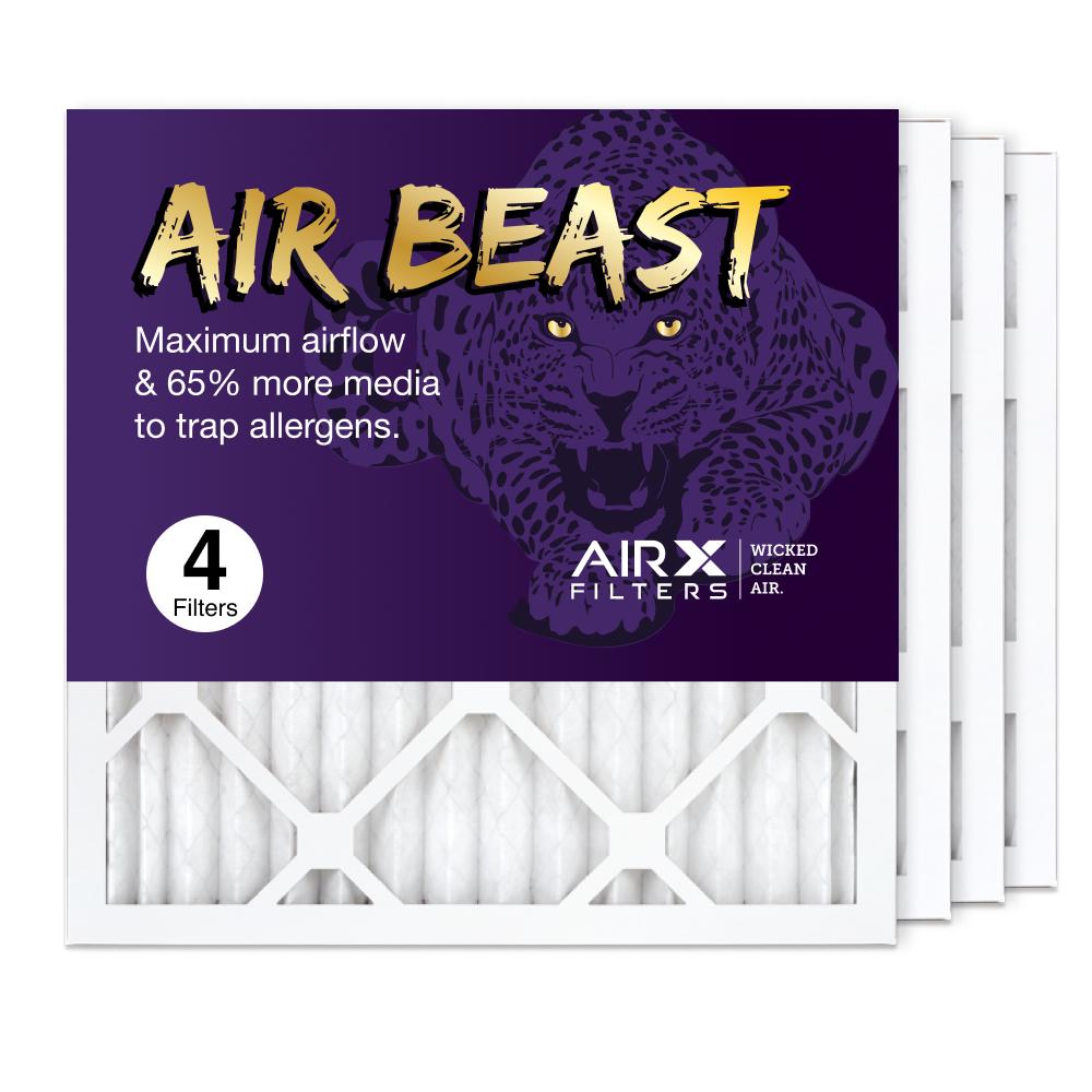 16x16x1 AIRx Air Beast High Flow Pleated Air Filter