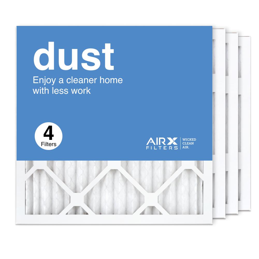 16x16x1 AIRx DUST Air Filter, 4-Pack