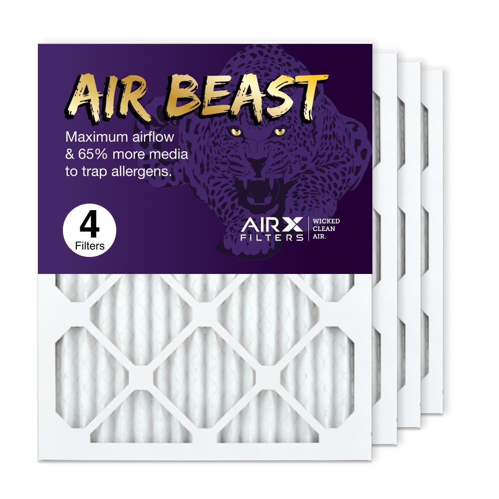 16x20x1 AIRx Air Beast High Flow Pleated Air Filter