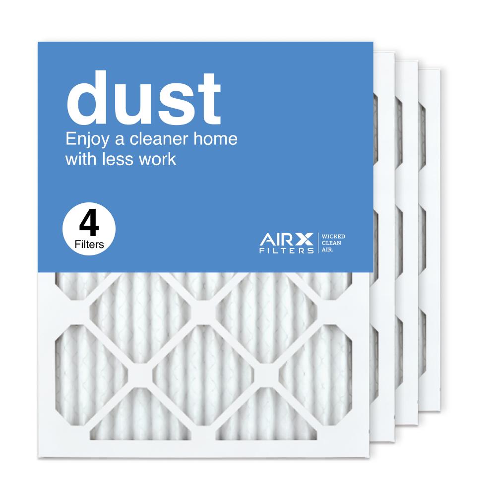 16x20x1 AIRx DUST Air Filter, 4-Pack