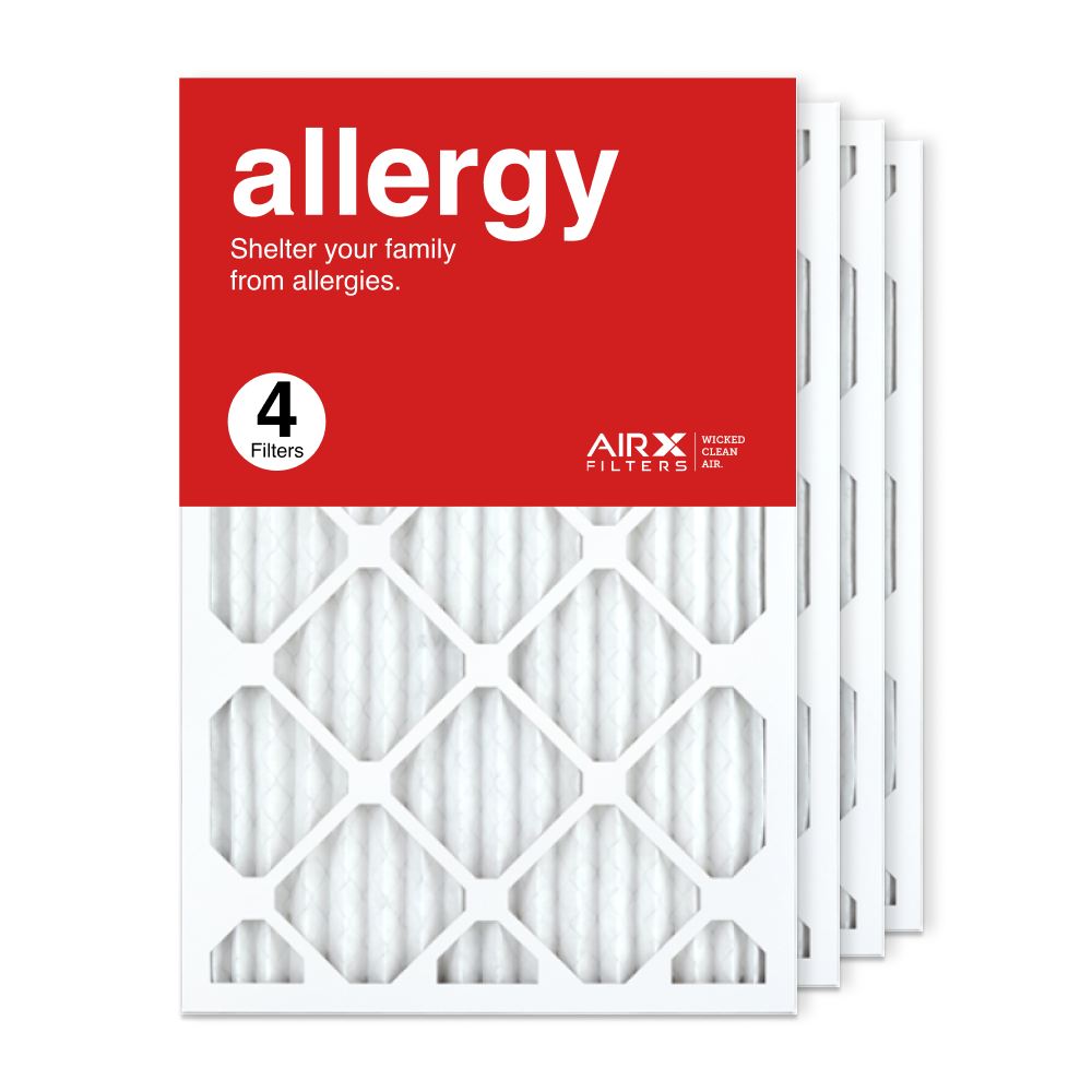 16x24x1 AIRx ALLERGY Air Filter, 4-Pack