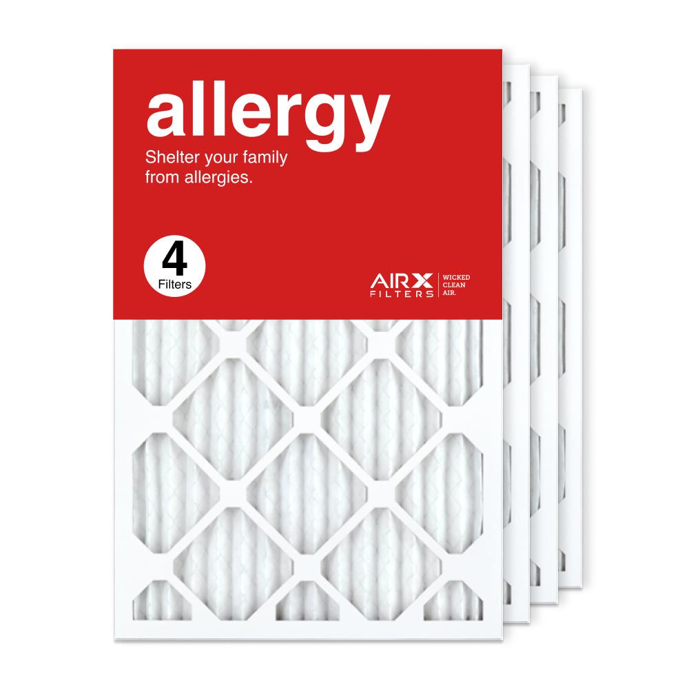 16x25x1 AIRx ALLERGY Air Filter, 4-Pack