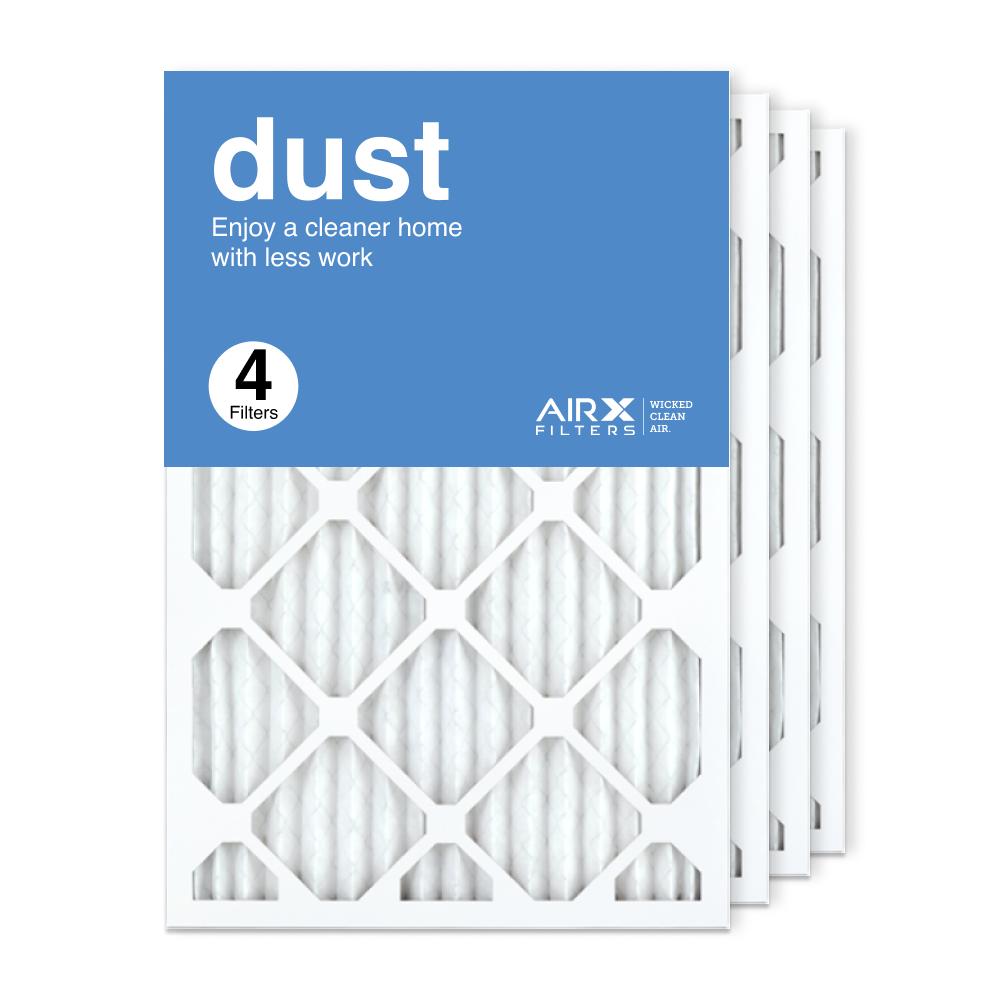 16x25x1 AIRx DUST Air Filter, 4-Pack