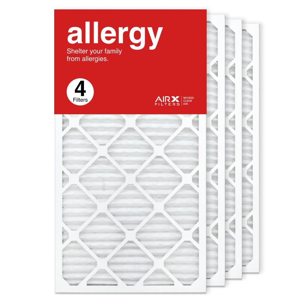 16x30x1 AIRx ALLERGY Air Filter, 4-Pack
