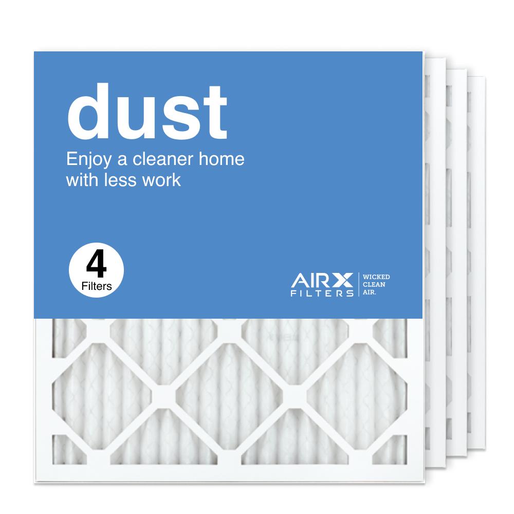 18x20x1 AIRx DUST Air Filter, 4-Pack