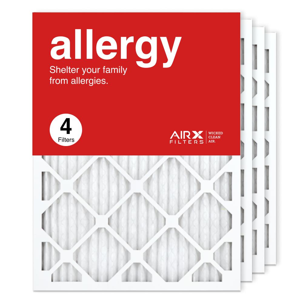 18x24x1 AIRx ALLERGY Air Filter, 4-Pack