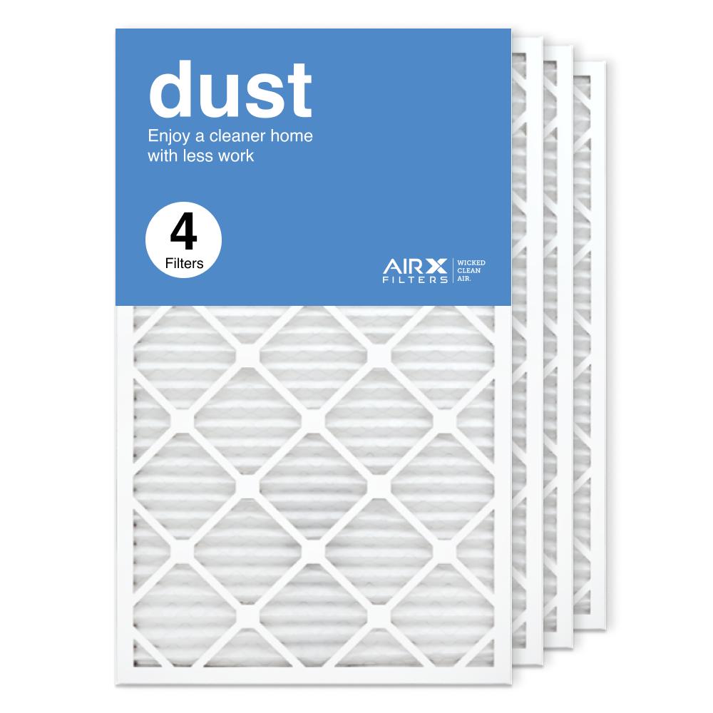 18x30x1 AIRx DUST Air Filter, 4-Pack