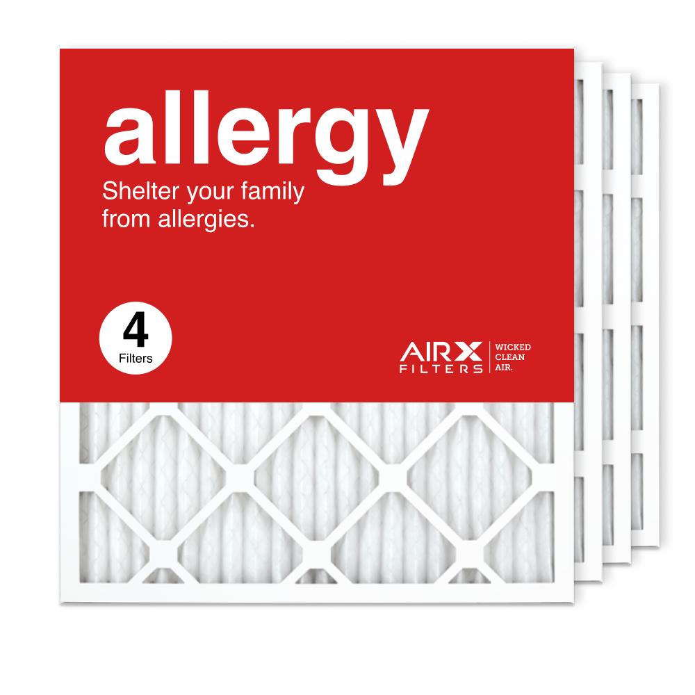 19.75x21.5x1 AIRx ALLERGY Air Filter, 4-Pack