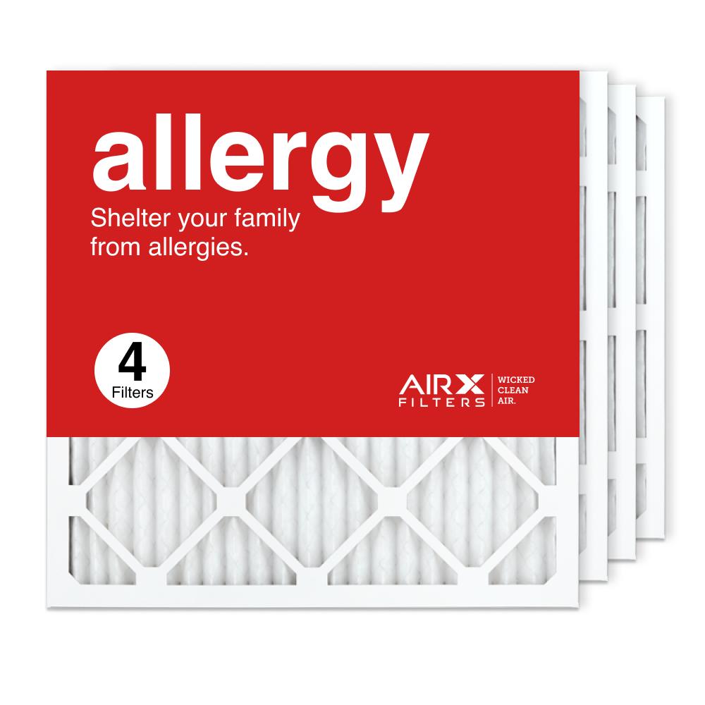 20x20x1 AIRx ALLERGY Air Filter, 4-Pack