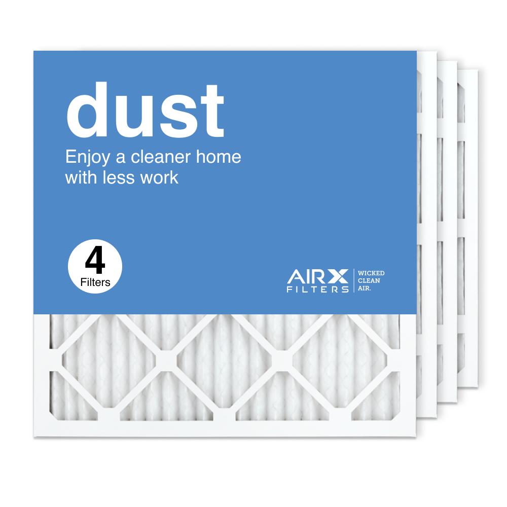 20x20x1 AIRx DUST Air Filter, 4-Pack