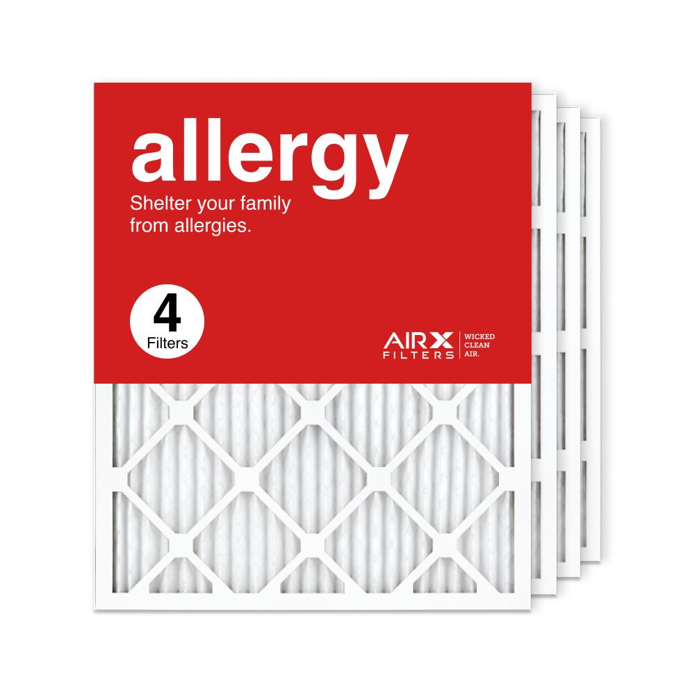20x25x1 AIRx ALLERGY Air Filter, 4-Pack