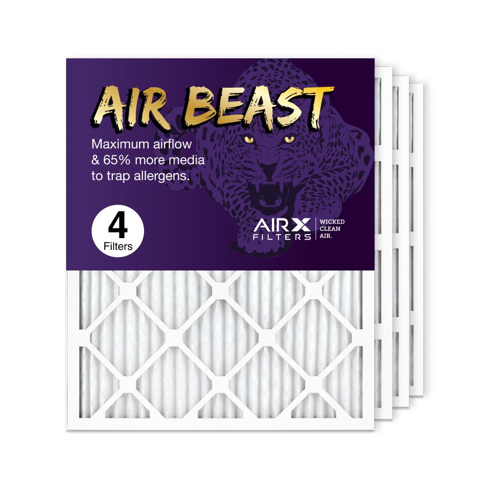 20x25x1 AIRx Air Beast High Flow Pleated Air Filter