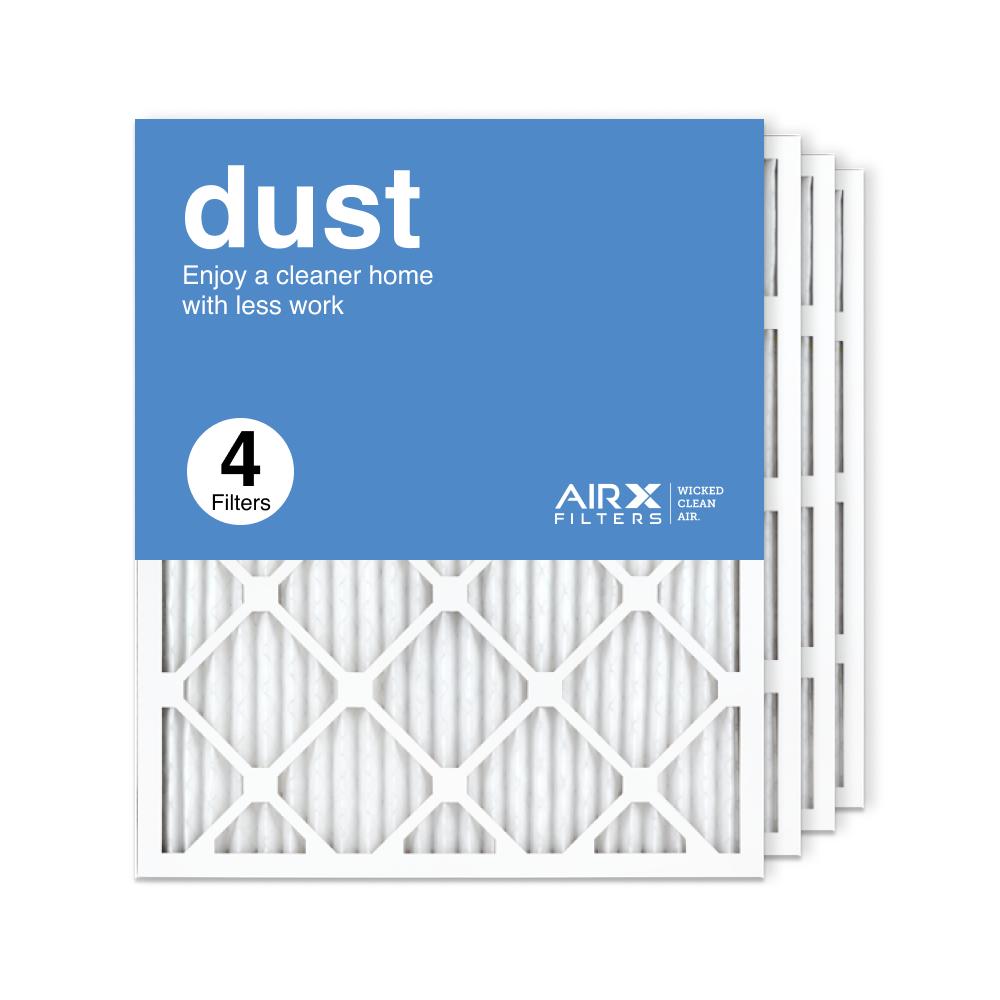 20x25x1 AIRx DUST Air Filter, 4-Pack