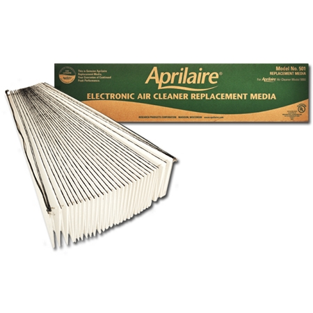 Aprilaire / Space-Gard #501 High Efficiency Filtering Media, 10-Pack