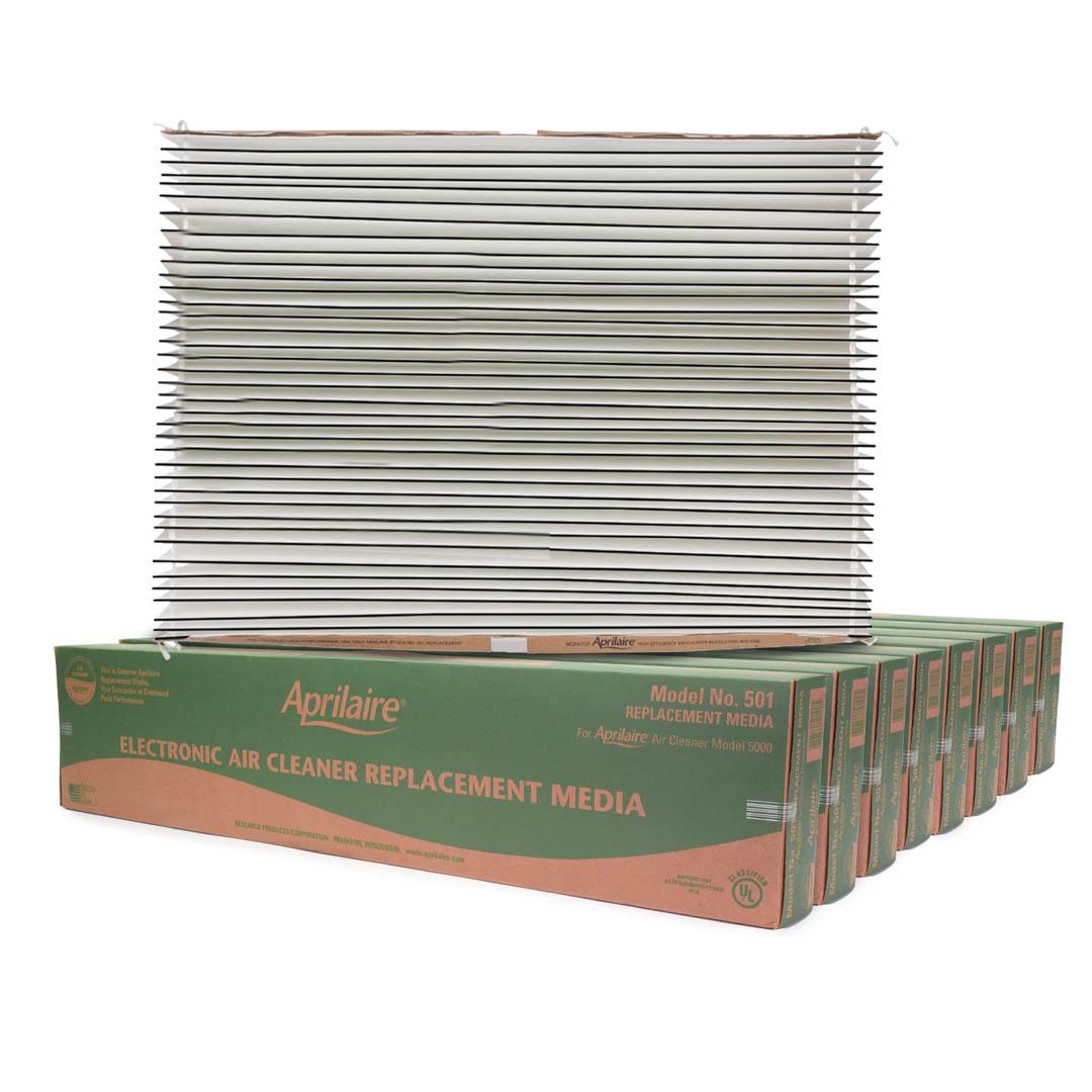 Aprilaire / Space-Gard #501 High Efficiency Filtering Media, 2-Pack