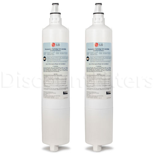 LG Refrigerator Water Filter (5231JA2006A), 2-Pack