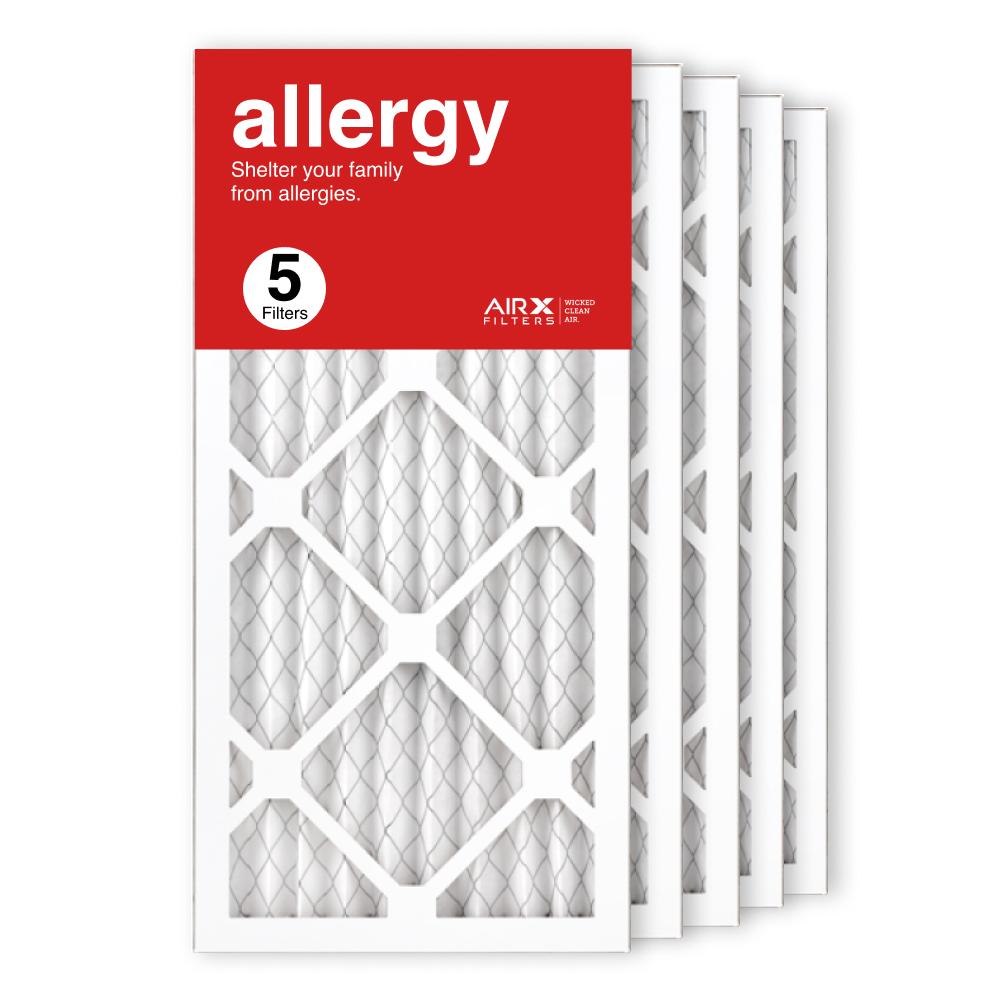 10x20x1 AIRx ALLERGY Air Filter, 5-Pack