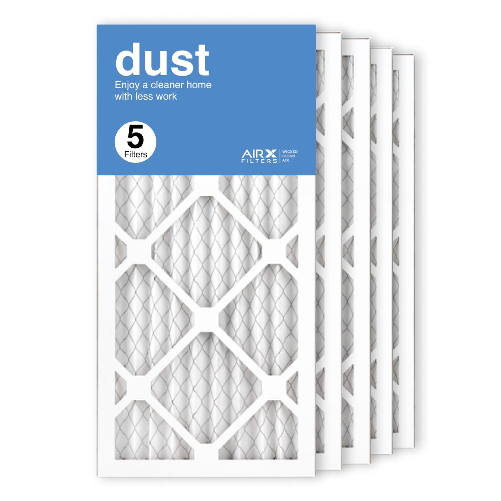 10x20x1 AIRx DUST Air Filter, 5-Pack