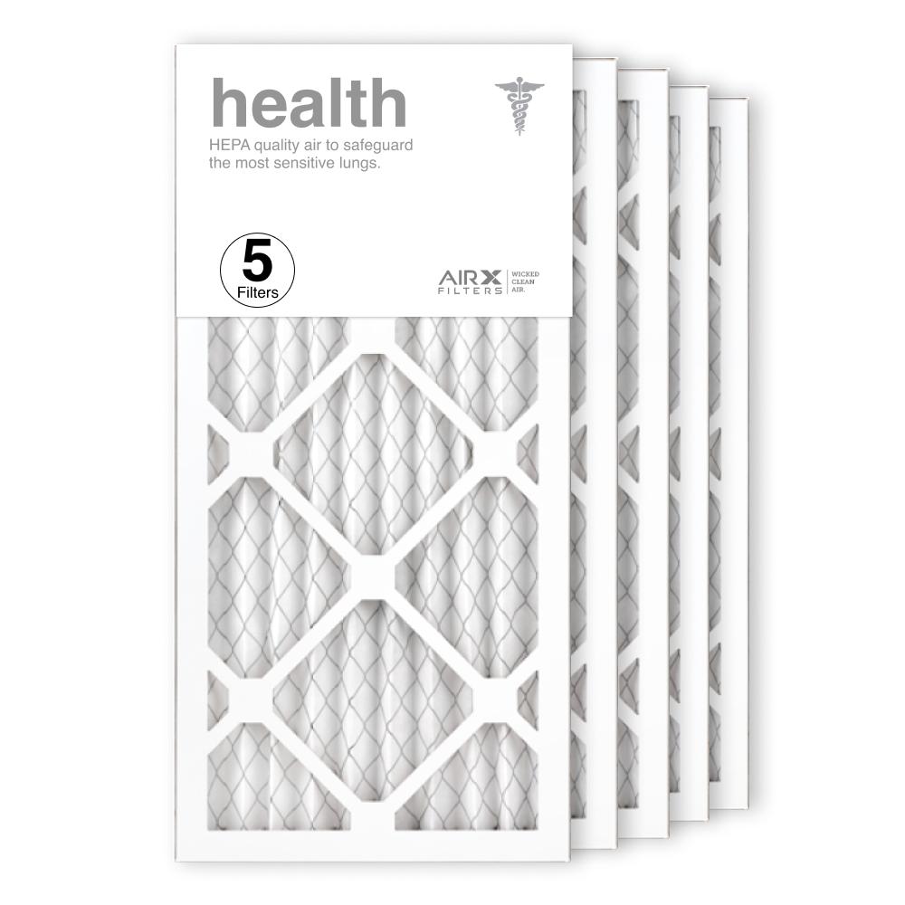 10x20x1 AIRx HEALTH Air Filter, 5-Pack