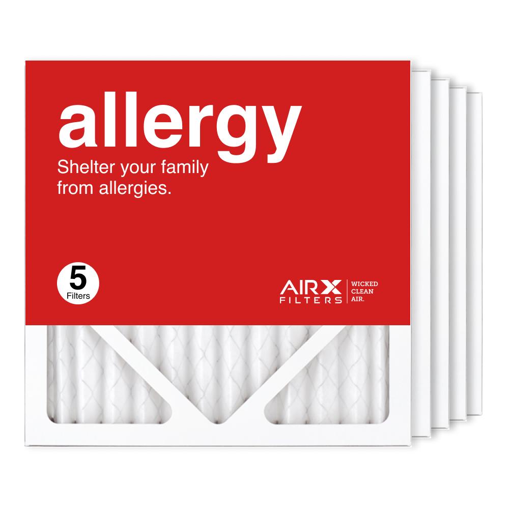 12x12x1 AIRx ALLERGY Air Filter, 5-Pack