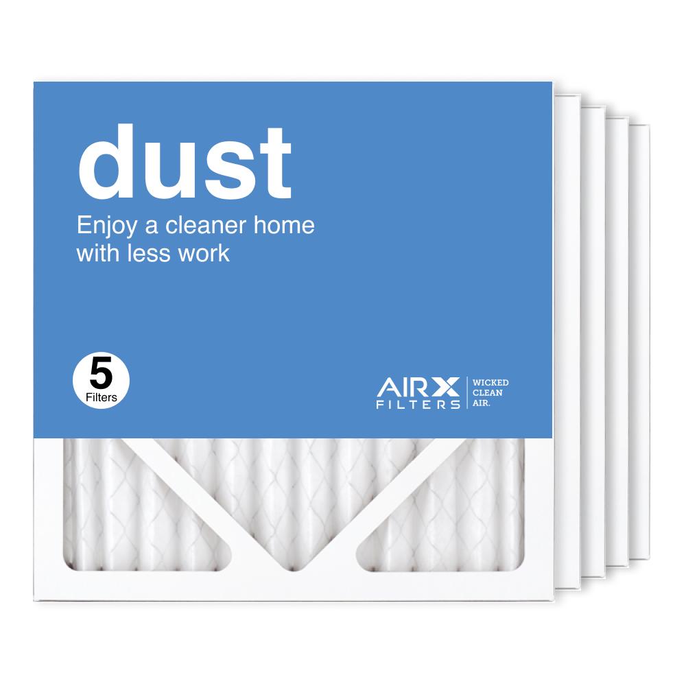 12x12x1 AIRx DUST Air Filter, 5-Pack