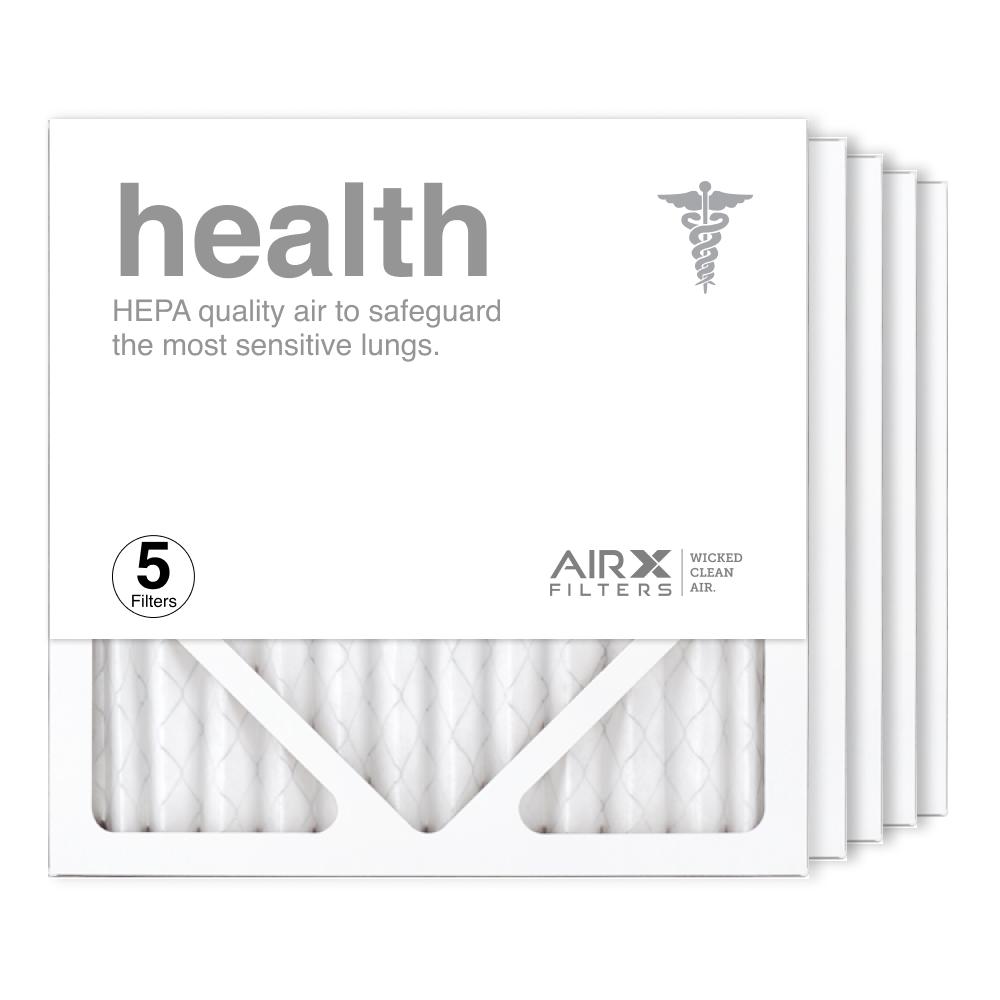 12x12x1 AIRx HEALTH Air Filter, 5-Pack