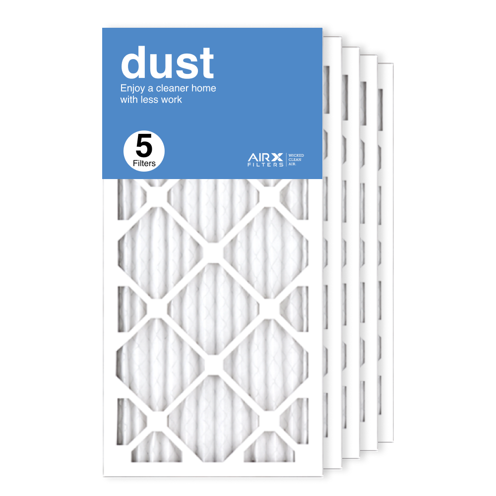 12x24x1 AIRx DUST Air Filter, 5-Pack