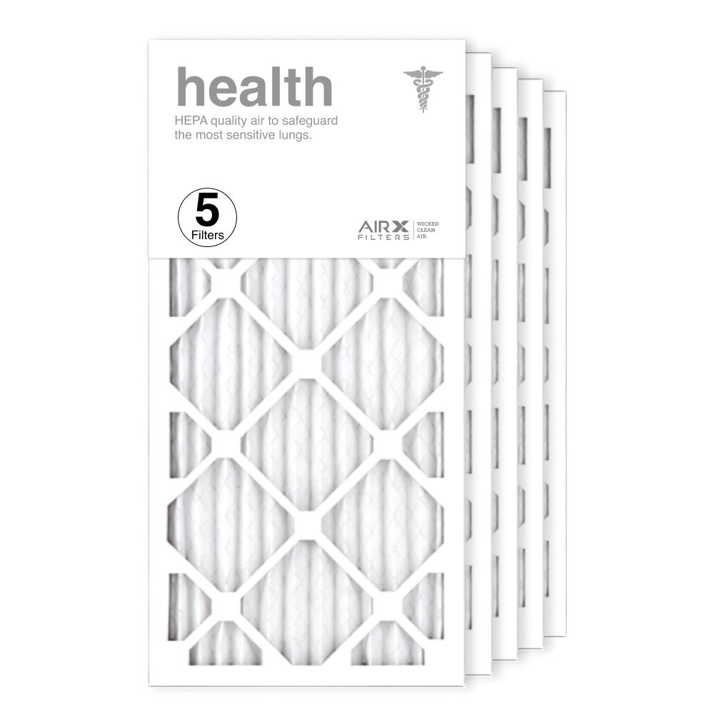 12x24x1 AIRx HEALTH Air Filter, 5-Pack