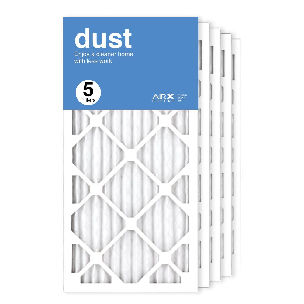 12x25x1 AIRx DUST Air Filter, 5-Pack