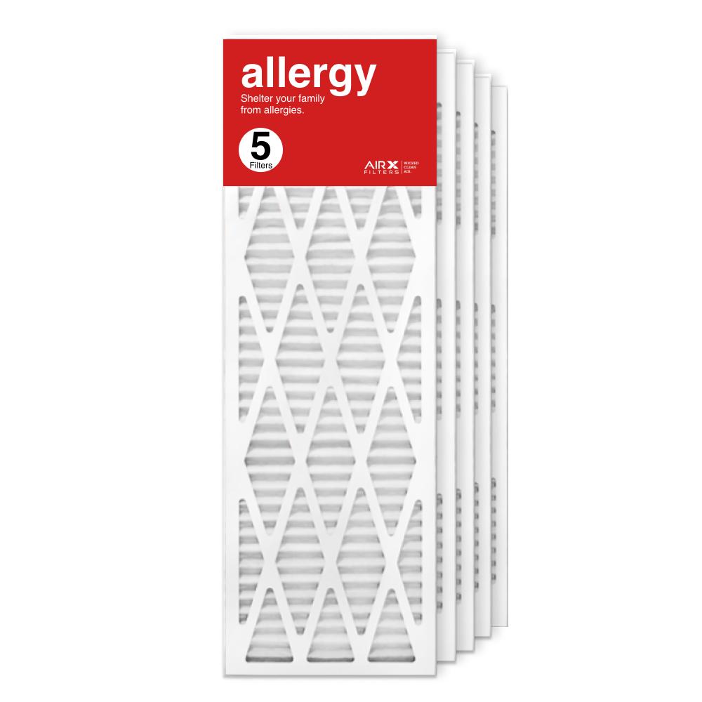 12x36x1 AIRx ALLERGY Air Filter, 5-Pack