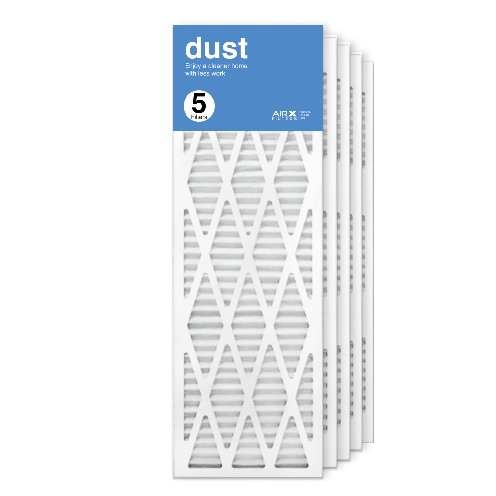 12x36x1 AIRx DUST Air Filter, 5-Pack