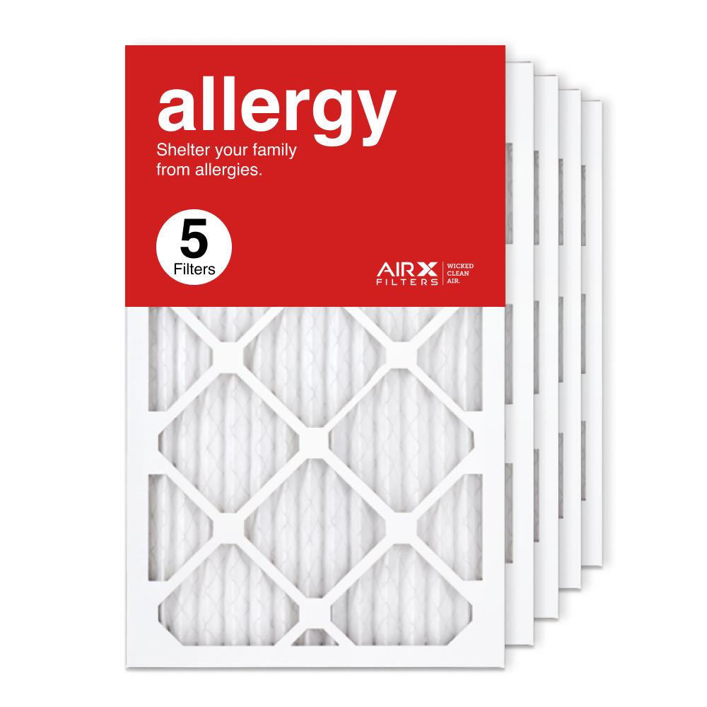 13x21.5x1 AIRx ALLERGY Air Filter, 5-Pack
