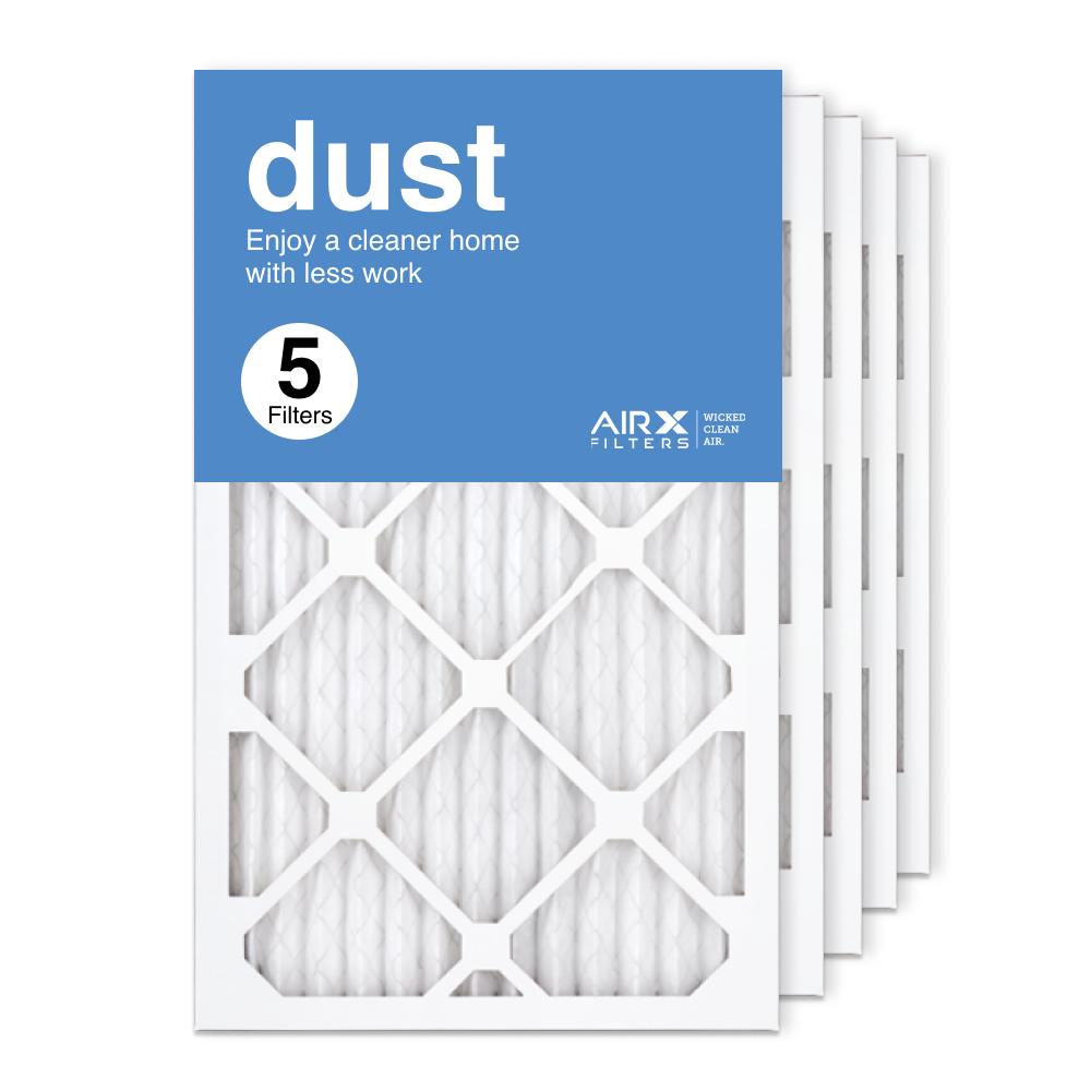 13x21.5x1 AIRx DUST Air Filter, 5-Pack