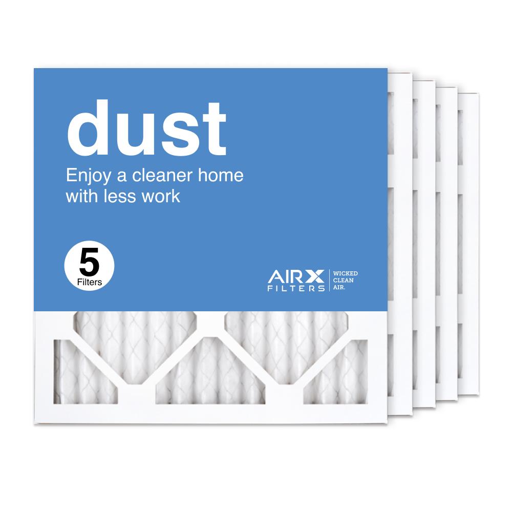 14x14x1 AIRx DUST Air Filter, 5-Pack