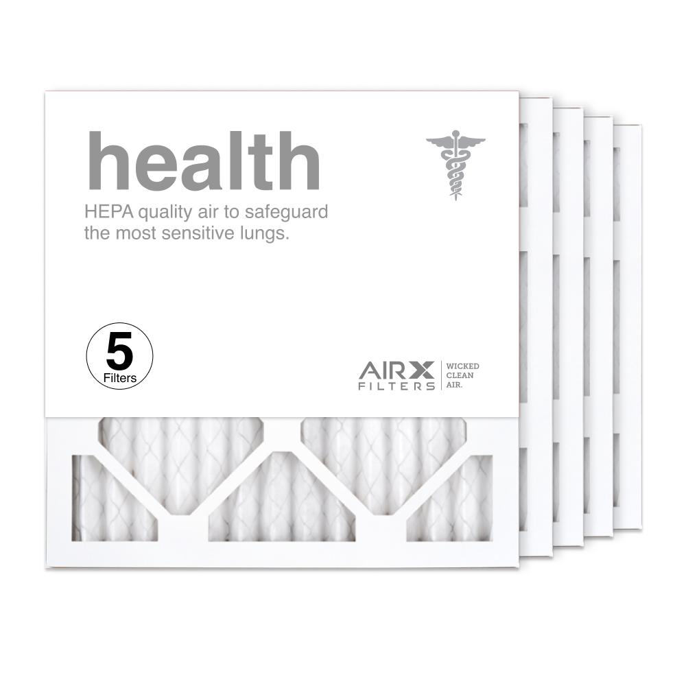 14x14x1 AIRx HEALTH Air Filter, 5-Pack