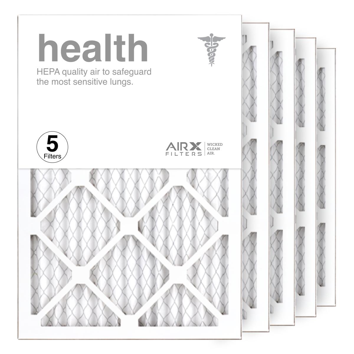 14x20x1 AIRx HEALTH Air Filter, 5-Pack