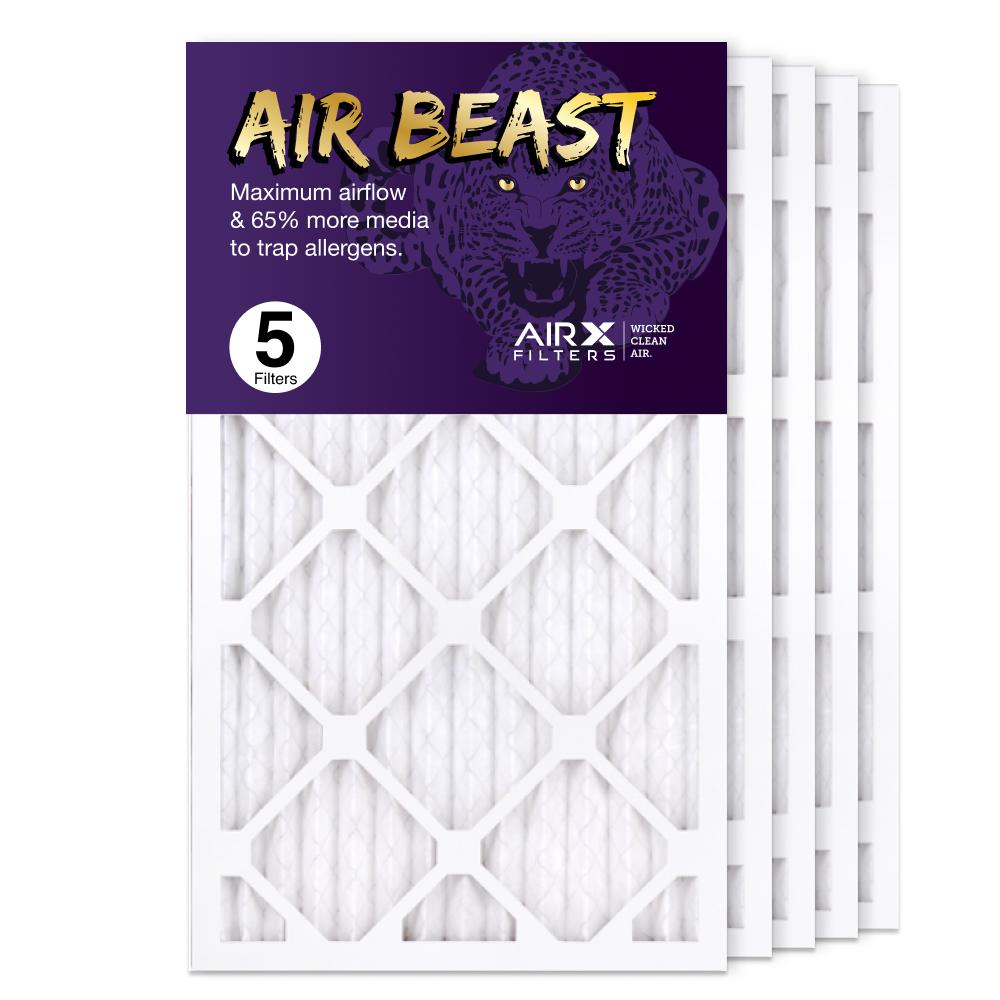 14x24x1 AIRx Air Beast High Flow Air Filter, 5-Pack