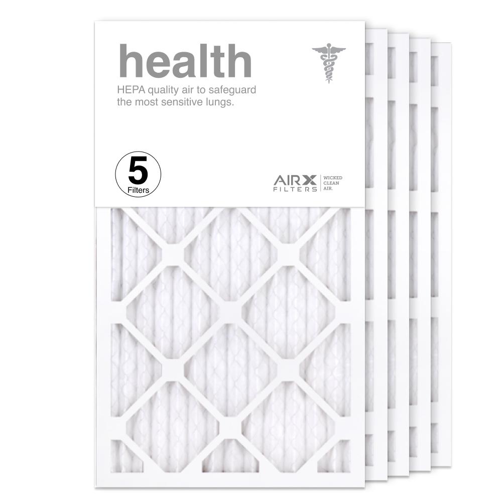 14x24x1 AIRx HEALTH Air Filter, 5-Pack