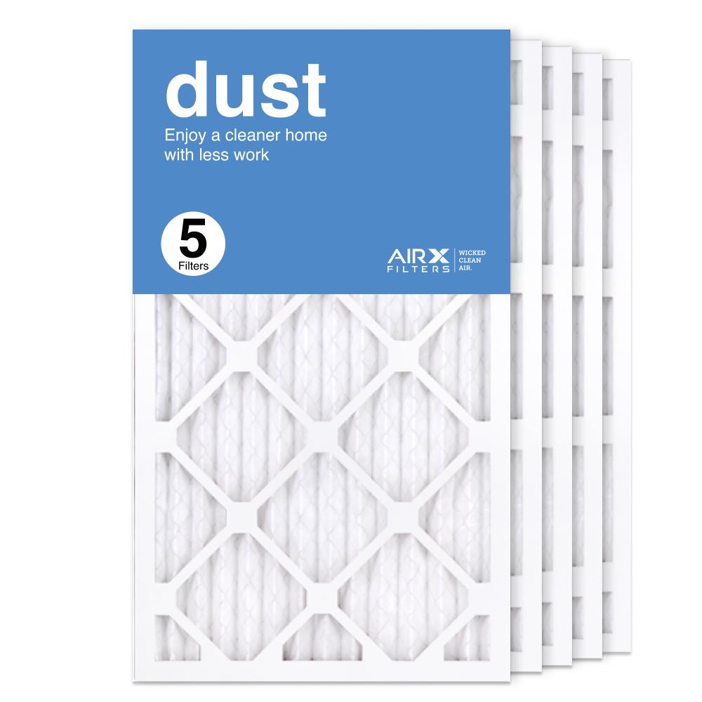 14x25x1 AIRx DUST Air Filter, 5-Pack