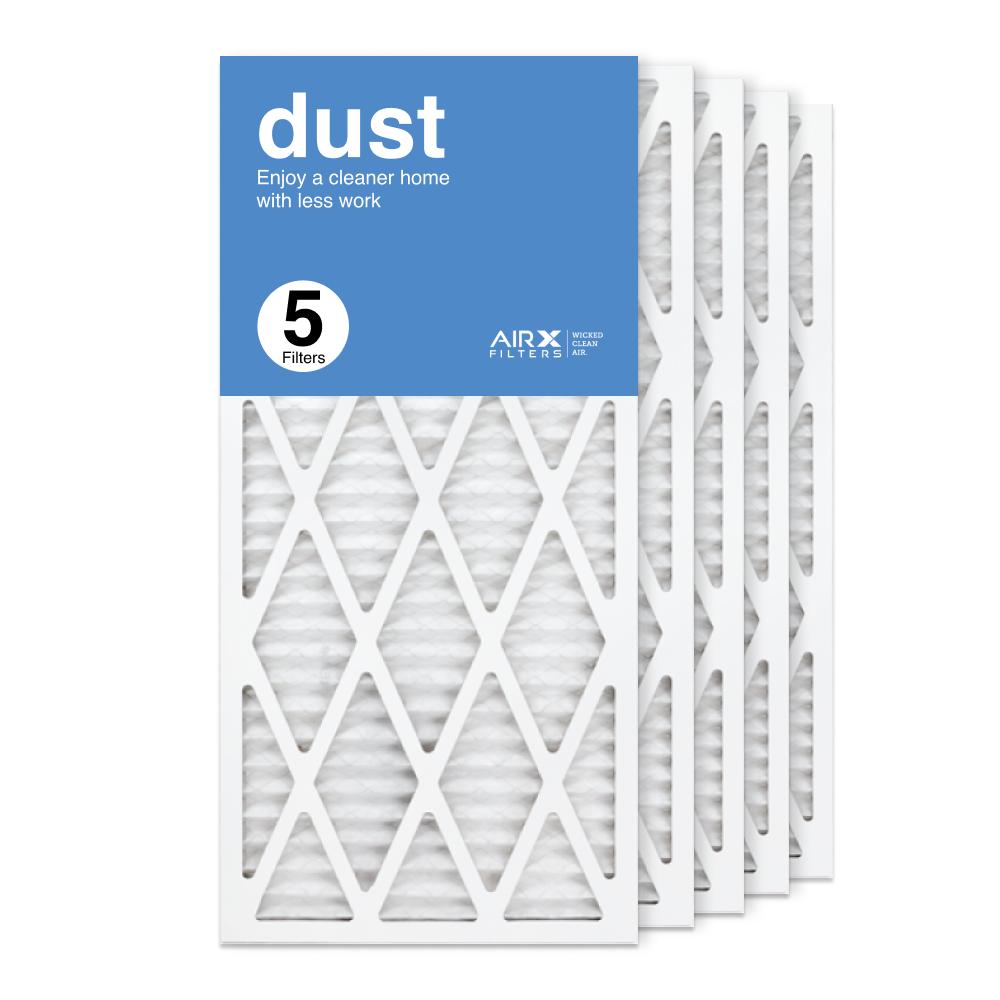 14x30x1 AIRx DUST Air Filter, 5-Pack