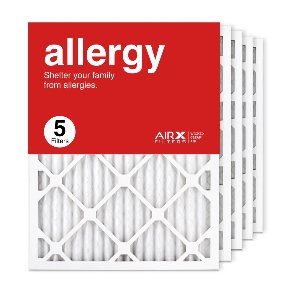 16.375x21.5x1 AIRx ALLERGY Air Filter, 5-Pack