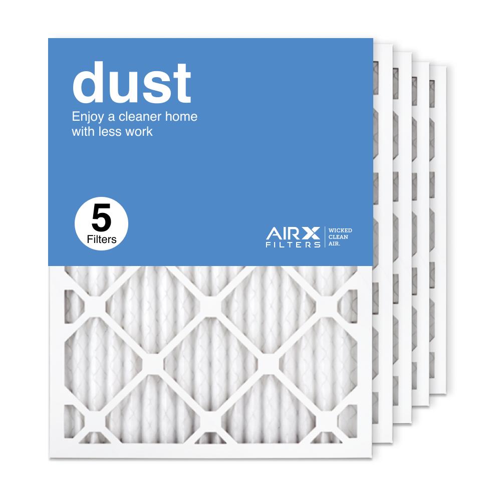 16.375x21.5x1 AIRx DUST Air Filter, 5-Pack