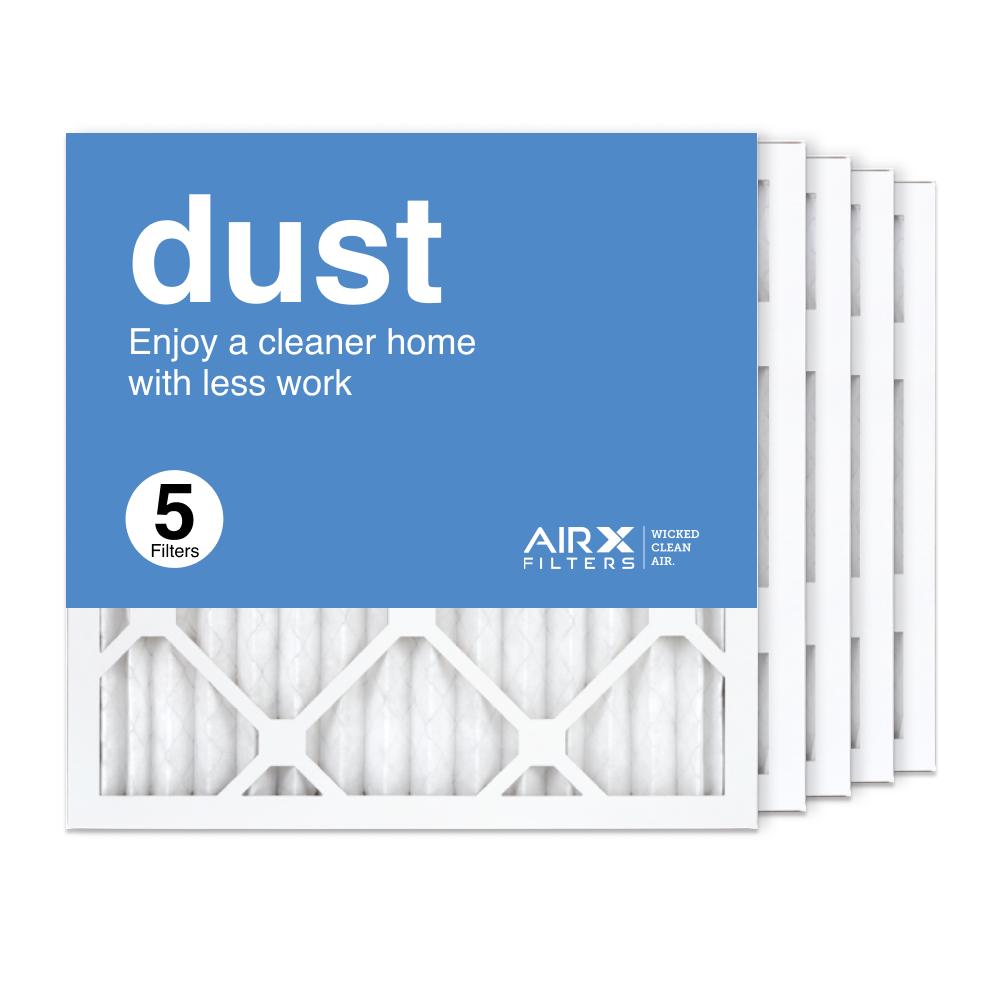 16x16x1 AIRx DUST Air Filter, 5-Pack