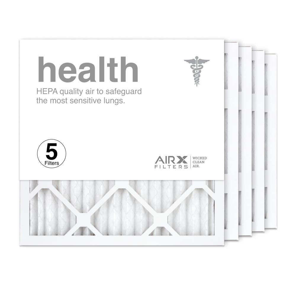 16x16x1 AIRx HEALTH Air Filter, 5-Pack
