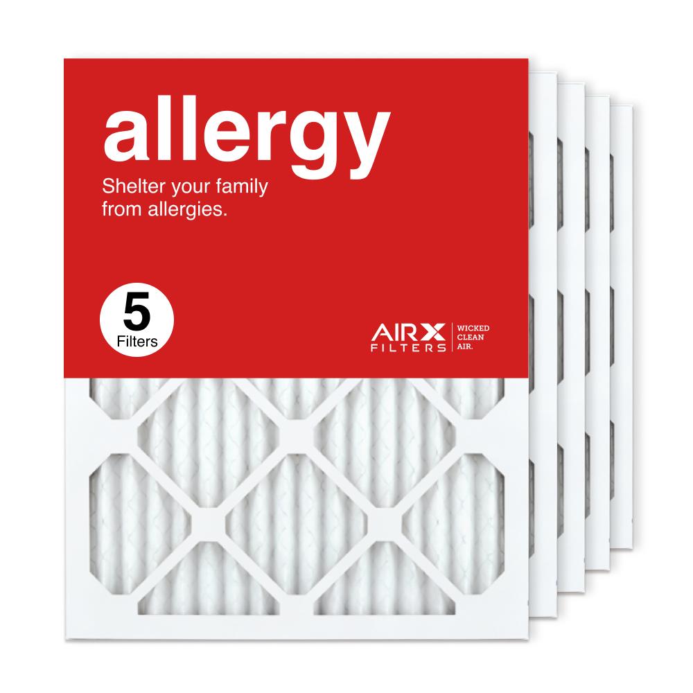 16x20x1 AIRx ALLERGY Air Filter, 5-Pack