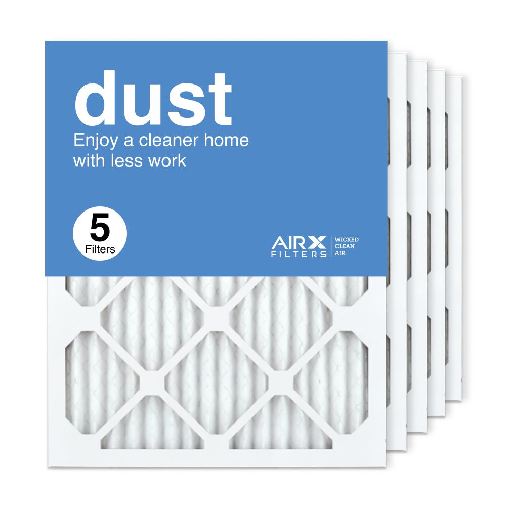 16x20x1 AIRx DUST Air Filter, 5-Pack