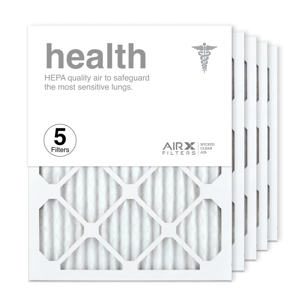 16x20x1 AIRx HEALTH Air Filter, 5-Pack