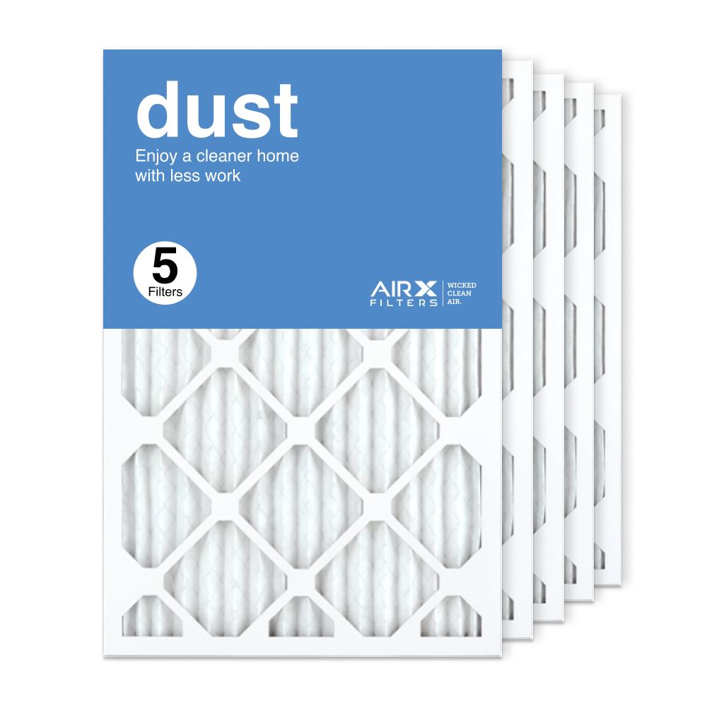 16x24x1 AIRx DUST Air Filter, 5-Pack