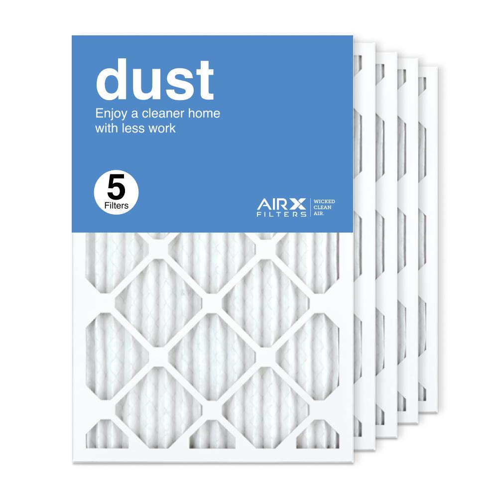 16x25x1 AIRx DUST Air Filter, 5-Pack